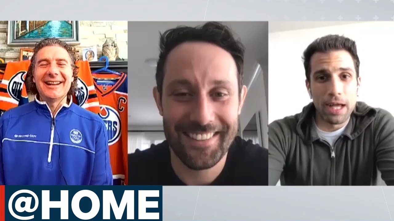 @ Home with Sam Gagner & Andrew Cogliano