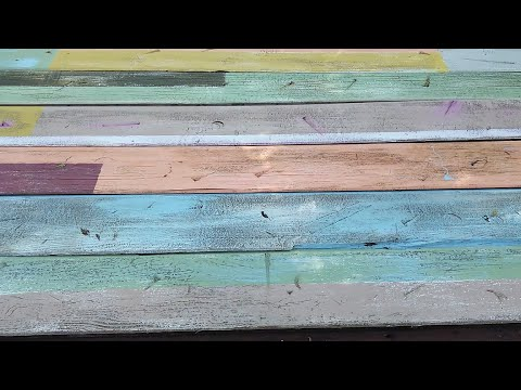 Distressed Wood Painting Techniques