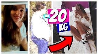 ABNEHMEN - 20kg in EINEM MONAT! Meine Story & Tipps + Vorher Nachher Bilder