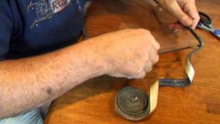 Wood Burning Stove Glass Gasket  Replacement