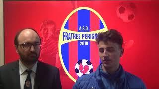 Interviste post partita Fratres Perignano - Atletico Cenaia