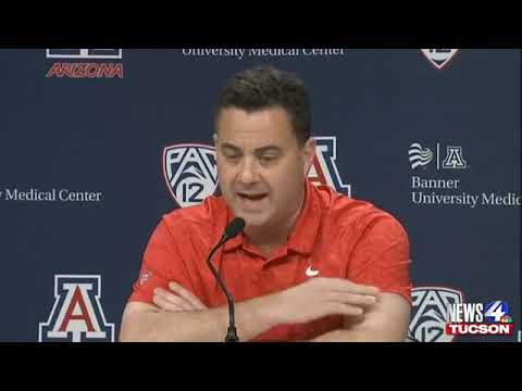 Sean Miller addresses the press about the Wildcats amid subpoenaed reports