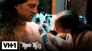 Vudu Dahl Tattoos Micky Munday For the First Time w/ Color (Episode 4)  | Tattoo Tales