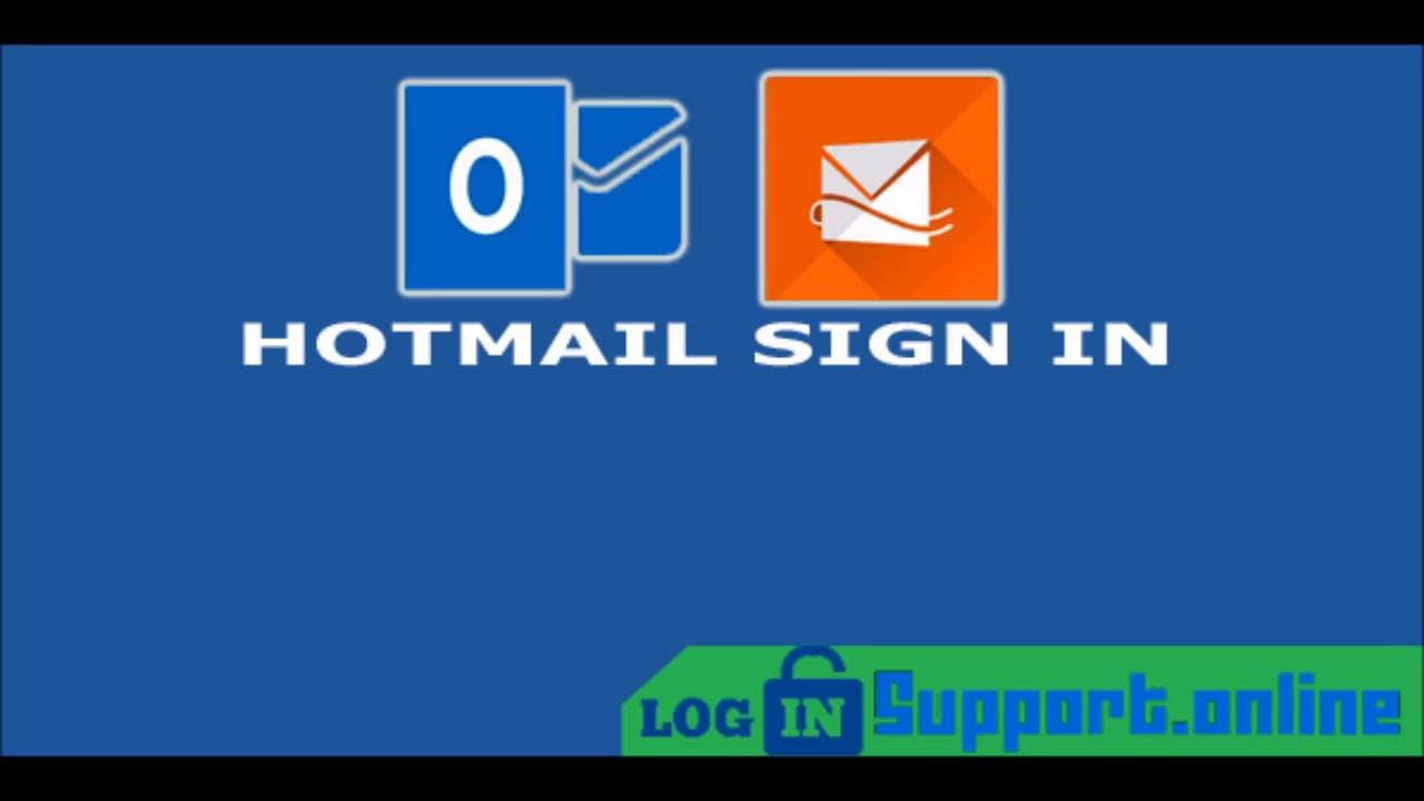 How to Login into Hotmail Account? Hotmail Login | Hotmail ...