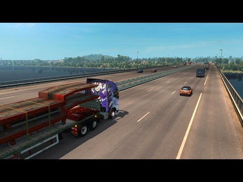 Euro Truck Simulator 2 Vive la France DLC P.7 |