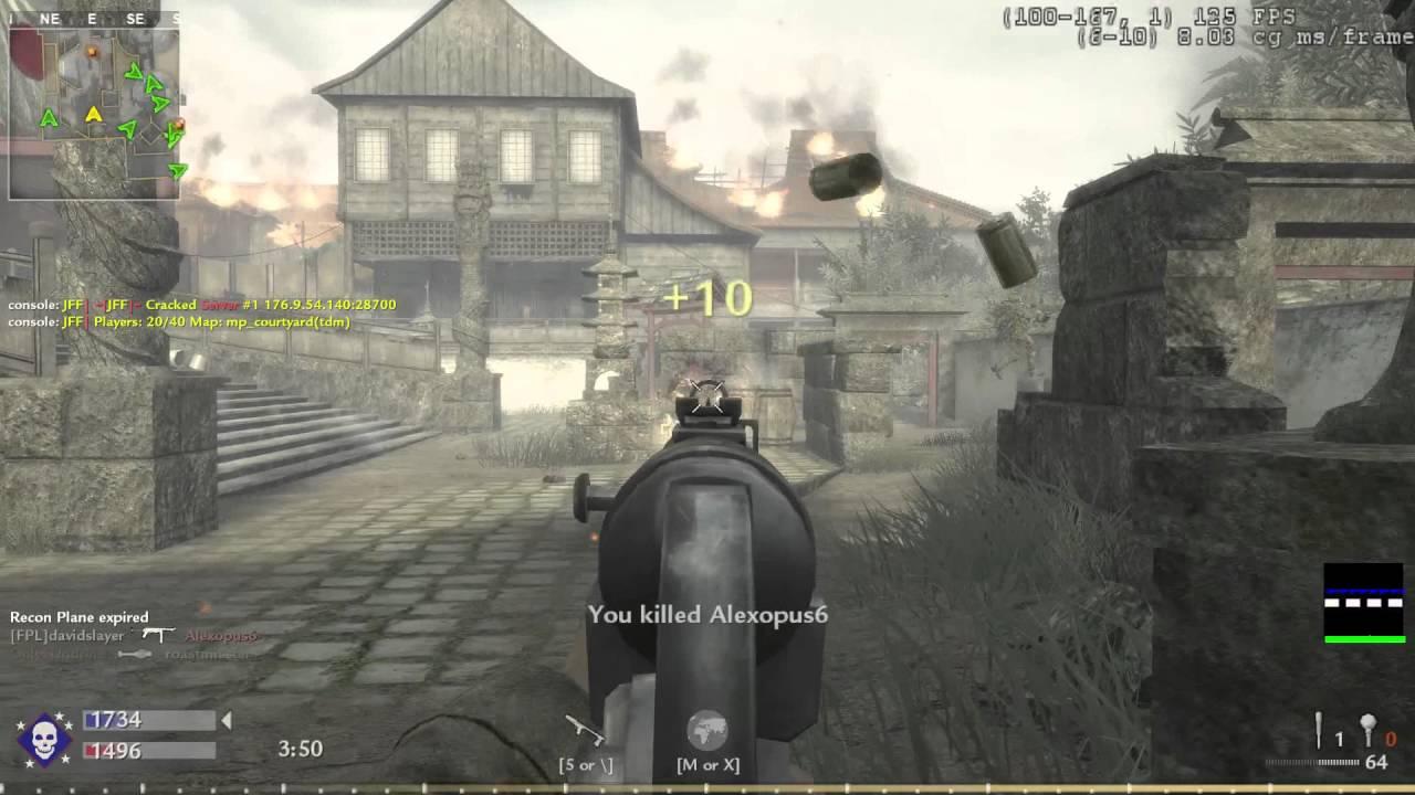 CoD: 5 - World At War - Courtyard gameplay. - YouTube