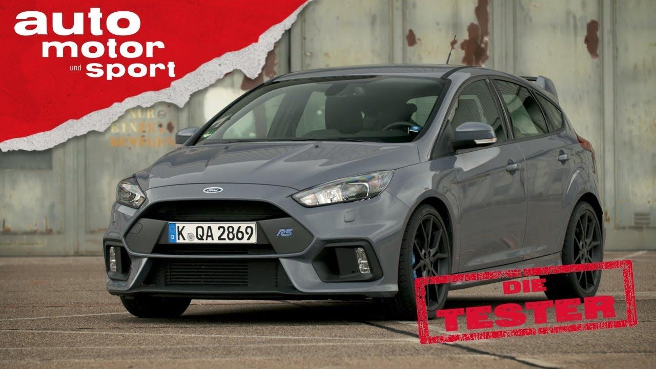 Ford Focus RS: Driftiges Kaufargument - Die Tester | auto motor und ...