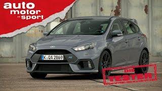 Ford Focus RS: Driftiges Kaufargument - Die Tester | auto motor und sport