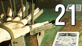 Resident evil 7 DLC.2: Mode vingt-et-un walkthrough + Manche final en défi et défi+