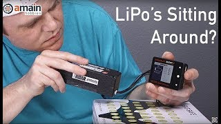 Tips for Using LiPo Batteries Again after Sitting Idle