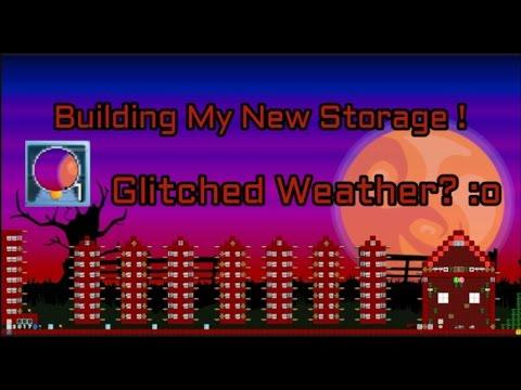Growtopia: BUILDING MY NEW STORAGE WORLD !