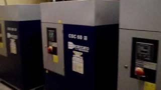 видео Винтовой компрессор Ceccato CSB 15/8 (арт. 6250390210)