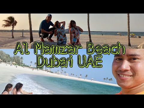 Al Mamzar Park and Beach Resort Dubai UAE.