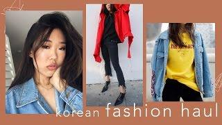 Huge Korean Fashion Haul