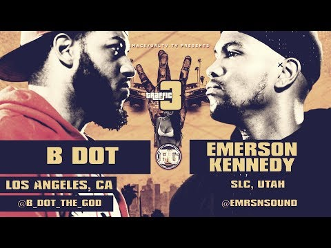 B DOT VS EMERSON KENNEDY SMACK/ URL RAP BATTLE