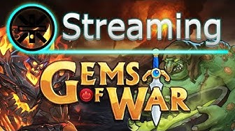 🔥 Gems of War Stream: Gold Leprechaun and Random Dragon🔥