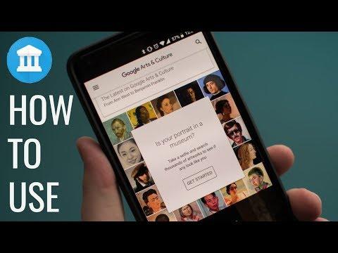 How To Use Google Arts & Culture App Selfie
