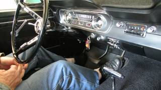 1965 Ford Mustang Start Up And Rev 1