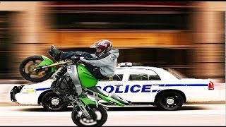 police vs moto police chase motorcycle cops riding wheelies best compilation 2015