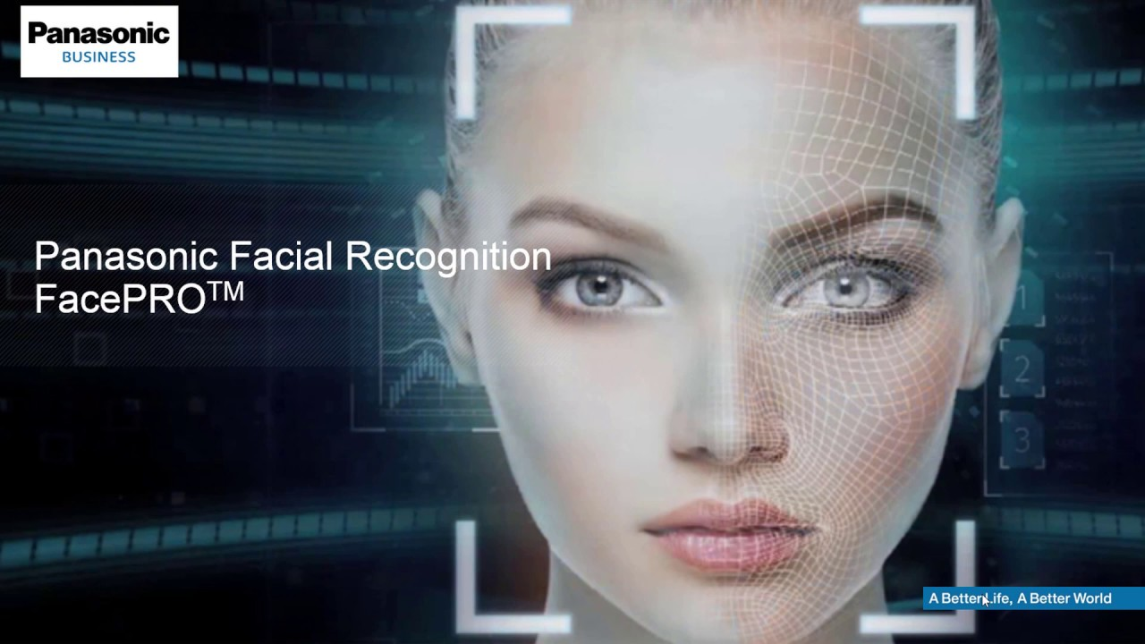 Panasonic FacePRO™ - Webcast on Facial Recognition System with Deep  Learning Technology