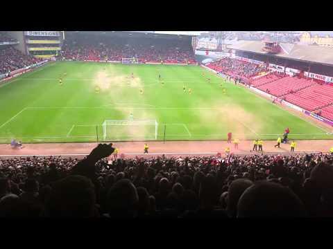 Sheffield United Fans 1-0 Barnsley