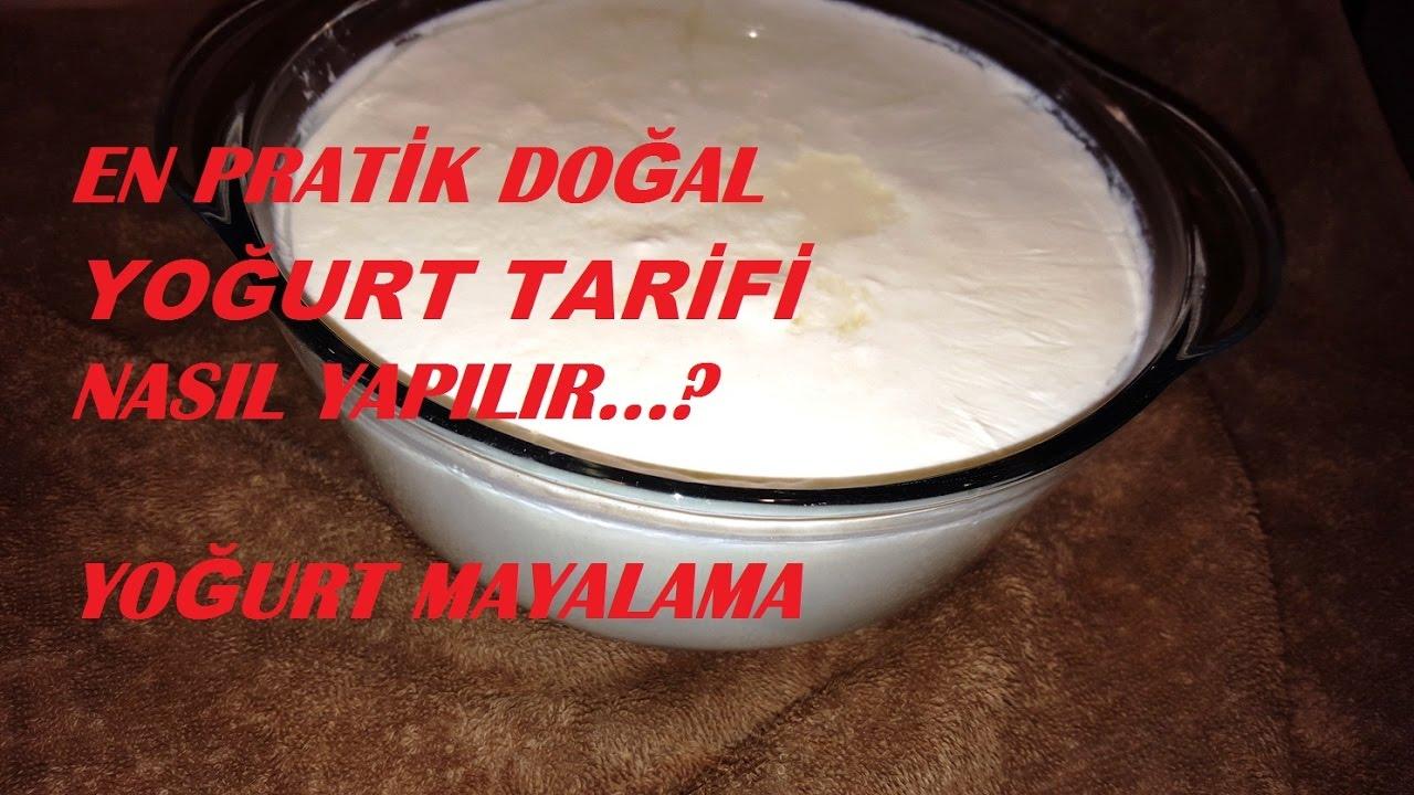 Yoğurt Mayalama Tarifi Videosu