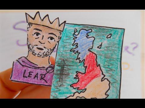 shakespeare king lear summary pdf