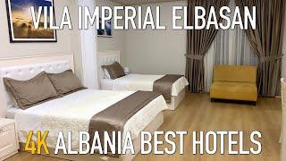 Hotel Vila Imperial Ebasan 4K video room review обзор номера отеля Hotel Vila Imperial Эльбасан