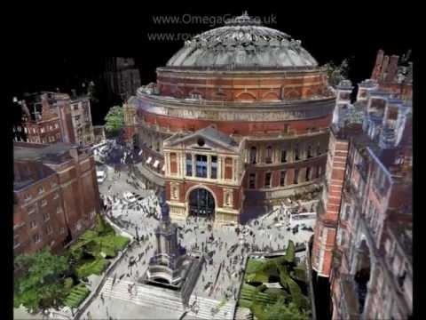 Royal Albert Hall - 3D Laser Scan Video