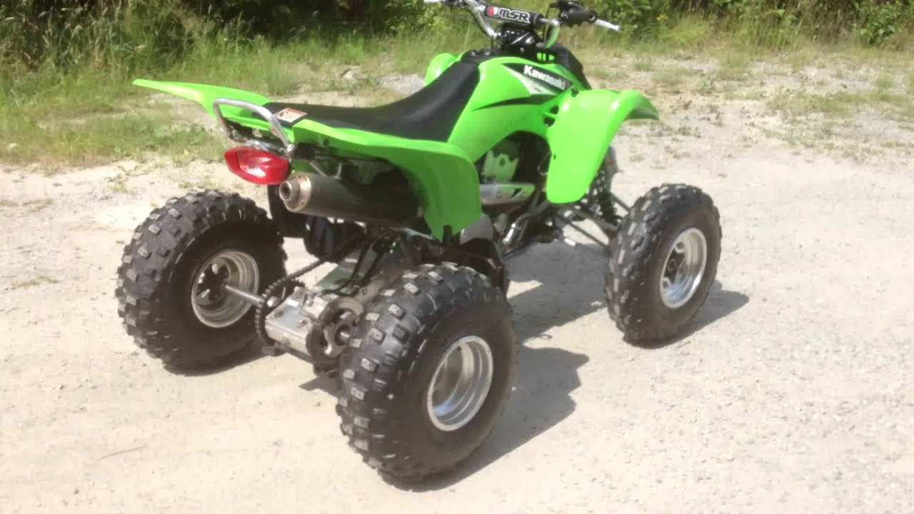 2006 kawasaki kfx400 sport quad youtube. Black Bedroom Furniture Sets. Home Design Ideas
