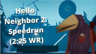Hello Neighbor 2 Hello Guest Speedrun WR (2:25)