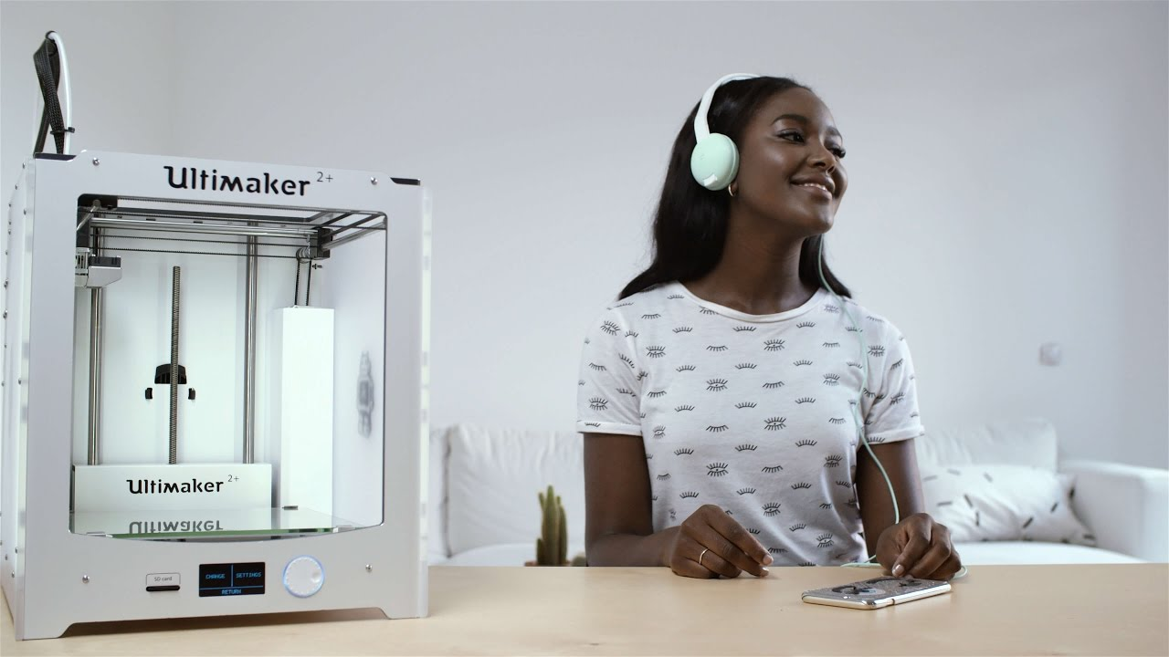 print+: 3D printed DIY headphones - Ultimaker: 3D Printing Story