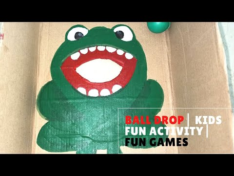 Ball drop game | fun activity for kids during lockdown | games for kids | How to engage your kids