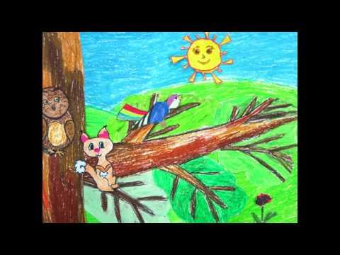 Гроза в лесу мультфильм