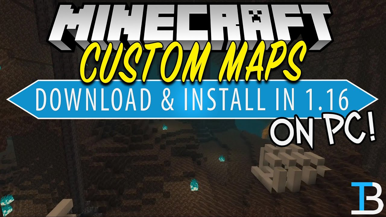 How To Download & Install Minecraft Maps in Minecraft 12.126