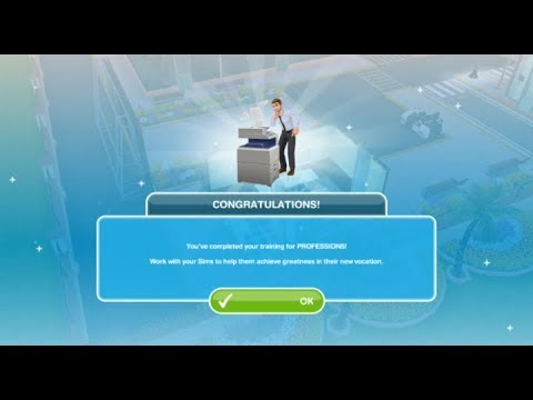 Download PROFESSIONS TRAINING | VISIT A PROFESSION WORKPLACE QUEST THE SIMS FREEPLAY 2019