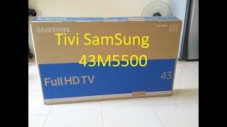 Hướng dẫn bạn lắp đặt sử dụng tivi samsung 43M5500 - tivi full hd giá tốt