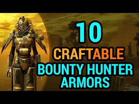 10 Bounty Hunter Armors You Can Craft In SWTOR