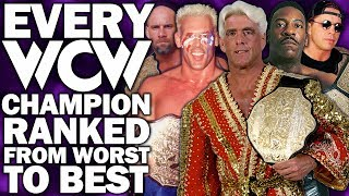 Every WCW World Heavyweight Champion Ranked From WORST To BEST