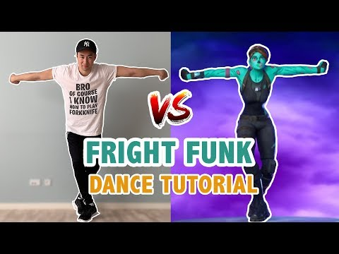 Fright Funk Fortnite (Dance Tutorial) | Fortnite Chapter 2 Dances