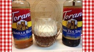 Vanilla Chai Spice Hot Apple Cider ~torani Friday~ Noreen's Kitchen