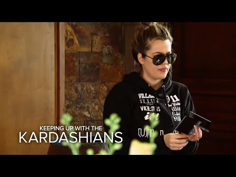 KUWTK | Kim, Khloe, & Kylie Involved in Car Accident in Montana | E!