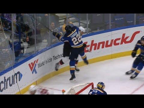 Zac Rinaldo scores, lays out Thorburn and Jaskin, fights Brodziak