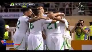 أهداف مباراة الجزائر 1-0 مالي تصفيات كأس العالم أفريقيا 2014 (2013/9/10) Algeria 1-0 Mali