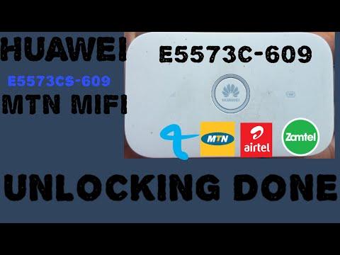 Huawei MTN mifi E5573cs-609 unlocking