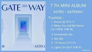 [FULL ALBUM] ASTRO (아스트로) - GATEWAY 7th MINI ALBUM
