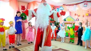 видео Новый год в детском саду. Сценарии для детского сада. Средняя группа