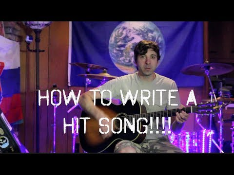 how to write a hit song pdf