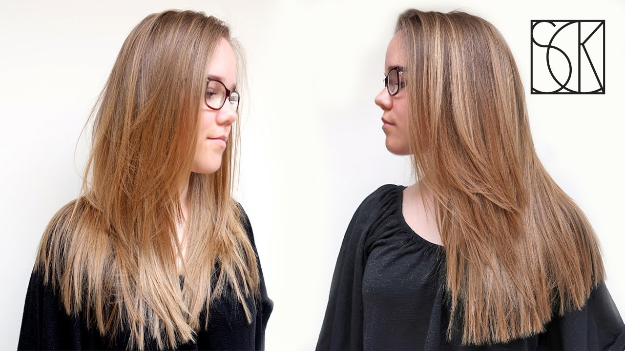 Download 1947 Mb Long Layered Haircut Tutorial By Barber Girl