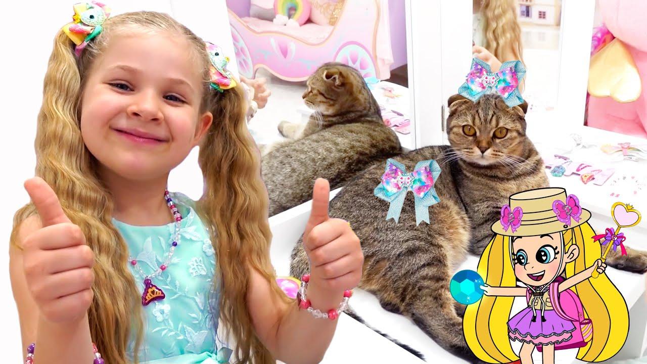 Diana and Roma How to Make a Cat a Princess